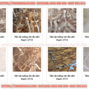tấm ốp tường pvc vân đá cẩm thạch